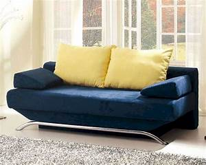 european design modern sofa bed in vibrant blue finish 33ss163 With euro design sectional sofa