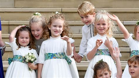 stumbles waves  giggles royal kids steal  show