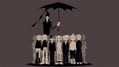 Eater Soul Anime Death Kid Reaper Maka