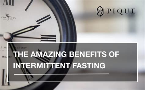 amazing benefits  intermittent fasting  flow