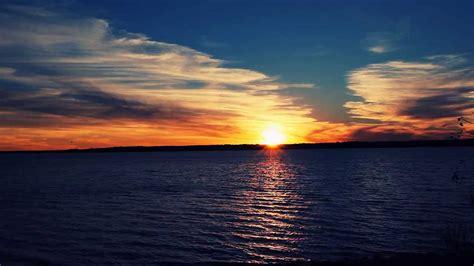 Sunset On The Lake Youtube
