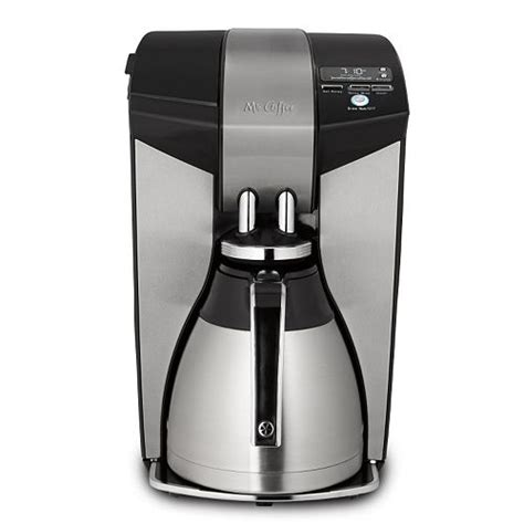 Cuisinart coffee plus 12 cup programmable coffeemaker & hot water video review. Mr. Coffee 12-Cup Optimal Brew Programmable Thermal Coffee Maker