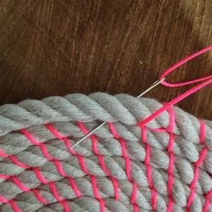 Teppich Selber Weben : spule seil sch ssel tutorial und materialien gewebte seil foot diy teppiche diy kit und ~ Orissabook.com Haus und Dekorationen