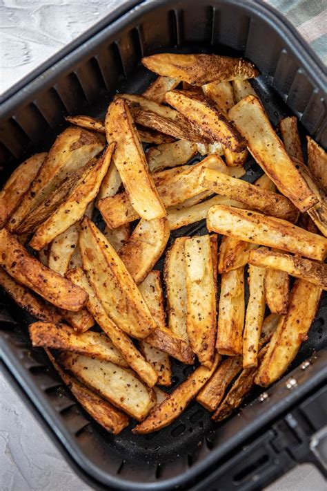 fryer air french fries making fires serve basket
