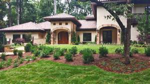 one story colonial house plans colonial hacienda in buckhead lefko design build