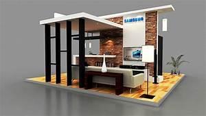 Samsung Smart Home : samsung smart home booth on behance ~ Buech-reservation.com Haus und Dekorationen