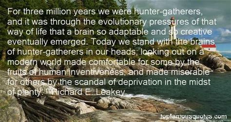 hunter gatherers quotes   famous quotes