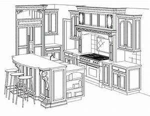 Kitchen Cabinet Drawing : What You Need To Know Before
