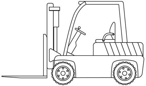 chariot cuisine dessin à imprimer un chariot élévateur dory fr coloriages