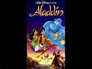 Disney Aladdin 1993 VHS