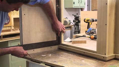 build  bathroom vanity cabinet part  youtube