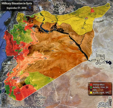 map military situation  syria  september