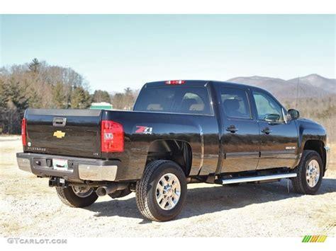 2014 Black Chevrolet Silverado 2500hd Ltz Crew Cab 4x4