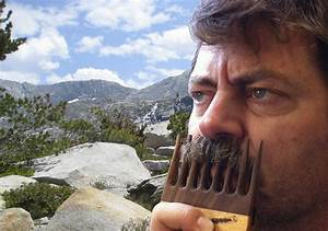 For Sale - Moustache Comb - Made in the USA - Offerman