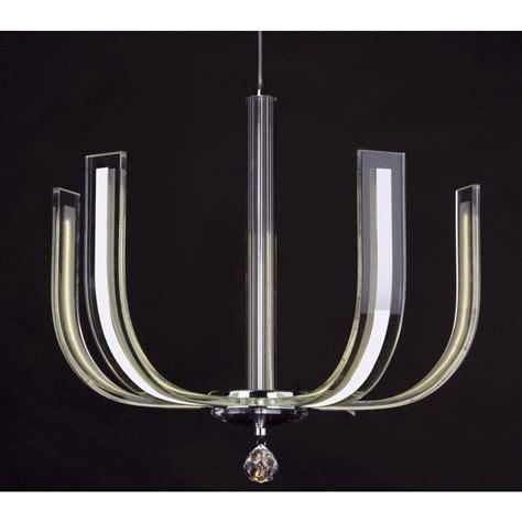 led glass pendant lights dar lighting carina 4 light led crystal glass ceiling