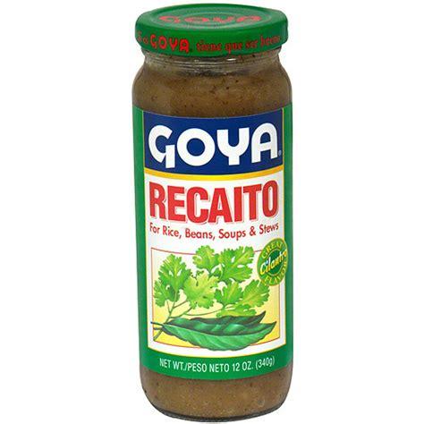 what is recaito goya recaito cilantro cooking base 12 oz pack of 24 walmart com