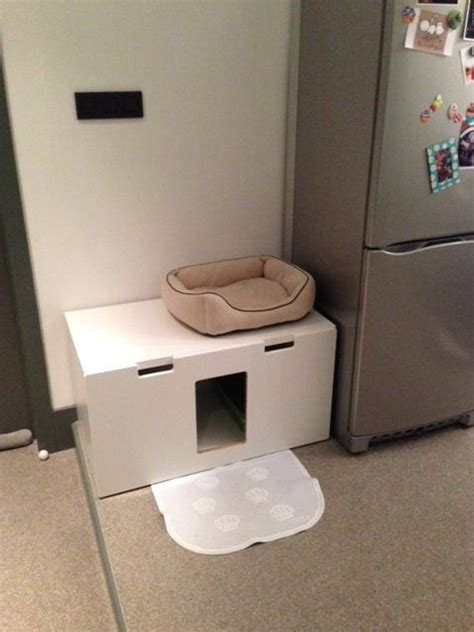 stuva litterbox   kitties ikea hacks  cats ikea