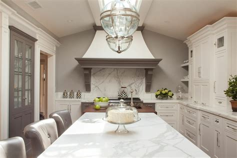 Warm White Kitchen by Alison Dorvillier   InPlace Studio