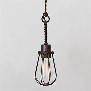 Industrial light fixtures cage lamps ideas