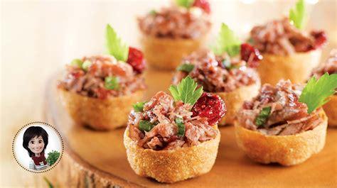 recette canapes pour aperitif confit de canard à l apéro de josée di stasio recettes