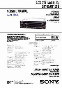 Sony Cdx Gt110 Wiring Diagram