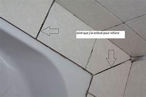 Joint Pour Carrelage : joint salle de bain ~ Melissatoandfro.com Idées de Décoration