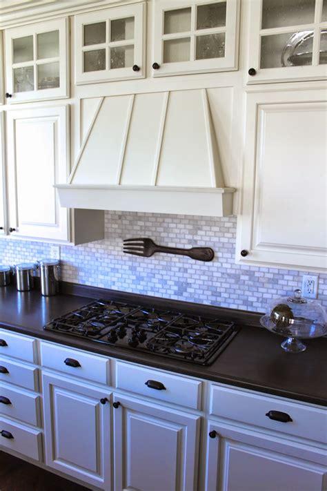amys casablanca kitchen update marble mosaic backsplash