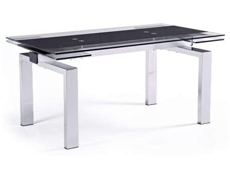 bureau en verre conforama table verre trempe conforama
