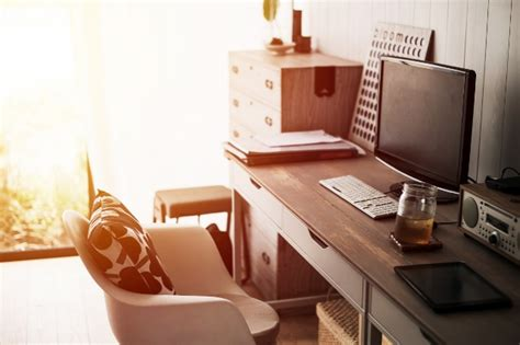 Creating A Small Home Office by How To Create A Home Office In A Small Space
