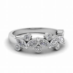 Vintage Marquise And Round Diamond Band In 950 Platinum