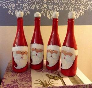 Hängelampe Aus Flaschen Selber Machen : 40 ideen f r diy weihnachtsdekoration aus glasflaschen ~ Frokenaadalensverden.com Haus und Dekorationen