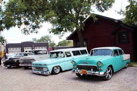 Classic Cars Take Their Place At Psychobilly Swap Meet