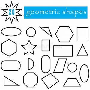 Geometrische Formen Berechnen : geometrische formen eingestellt von 20 ikonen popul re flache geometrische zahlen sammlung ~ Themetempest.com Abrechnung