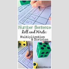 Free Multiplication And Division Activity  Teach Junkie