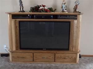 Custom Flat Screen Console Tv by Cry'n Crick Custom
