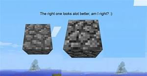 ORIGINAL cobblestone! Minecraft Texture Pack