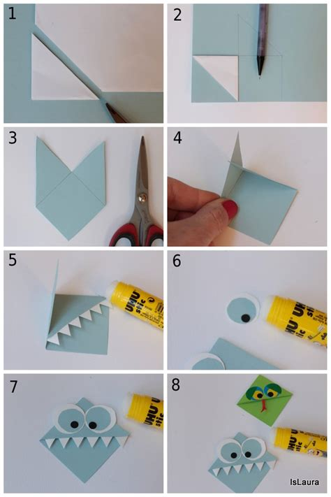 come creare un ladario fai da te segnalibri fai da te di cartoncino mamma felice