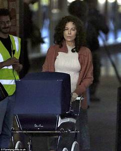 Kate Beckinsale seen filming for drama Farming in London ...