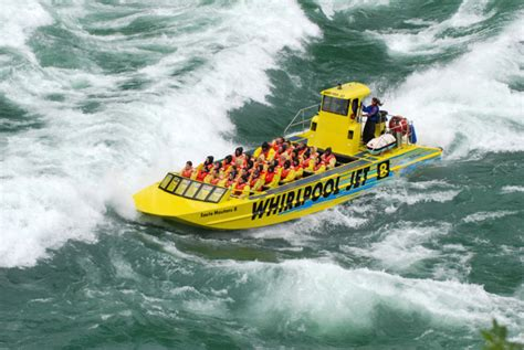 Whirlpool Jet Boat by Whirlpool Jet Boat On The Niagara River