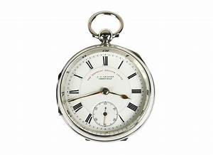 Sterling Silver Antique Pocket Watch Omero Home