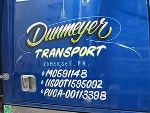 truck lettering by the paint chop With hand painted vehicle lettering