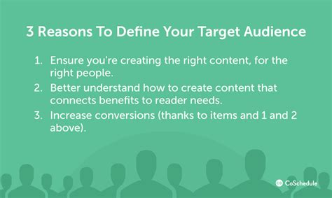 how to find your target audience create content that