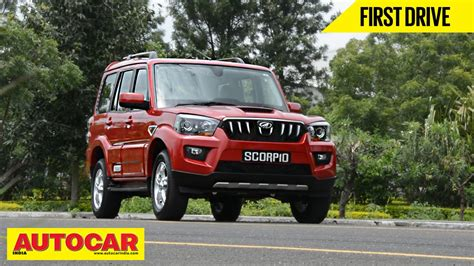 indian car mahindra 2014 mahindra scorpio first drive video review autocar