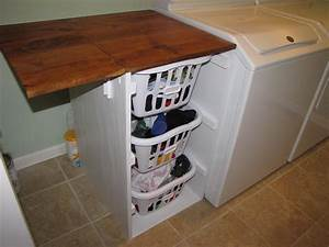 Ana white laundry cabinets shorter brook laundry for Laundry room folding table plans