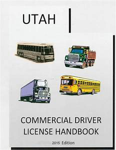 Commercial Drivers Manual For Cdl Training  Utah  On Cd In