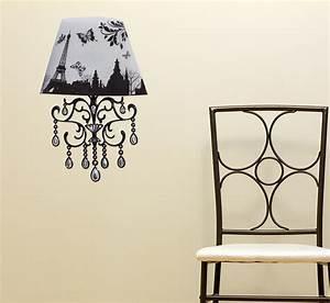 sticker lampe 3d led tour eiffel ambiance sticker j5 With carrelage adhesif salle de bain avec led lampe 3d