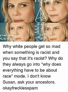 COS Why White People Get So Mad When Something Is Racist