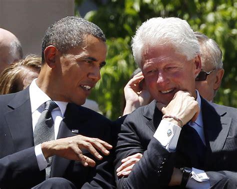 obama talks green jobs  bill clinton finally saloncom