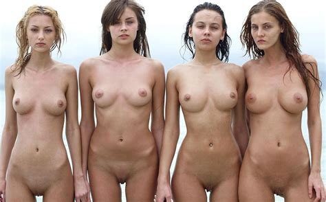 Four Group Of Nude Girls Sorted By Position Luscious