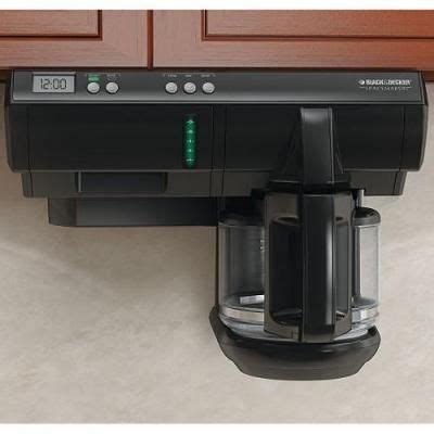 cabinet mount coffee maker 18 best images about space saver coffee maker